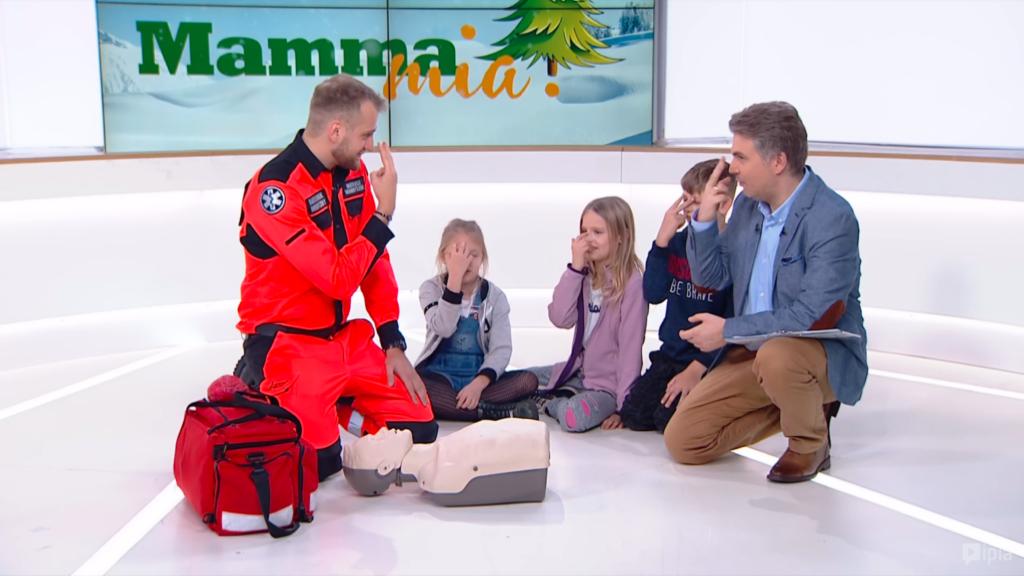 Mamma Mia! W jakim wieku zacząć naukę pierwszej pomocy?